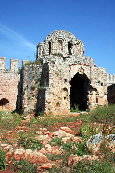 Alanya castle photo