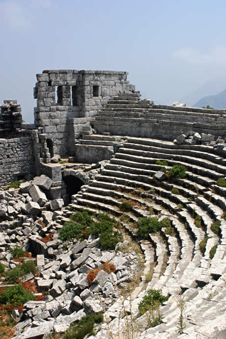 Theatre of Termessos in Antalya Province