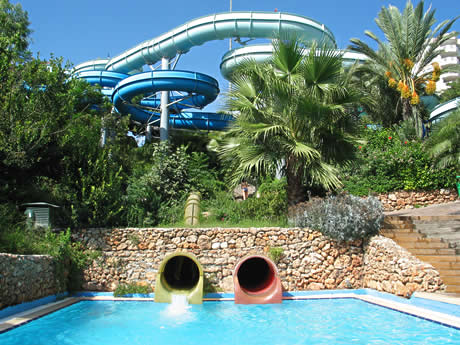 Parcul Acvatic Aqualand din Antalya